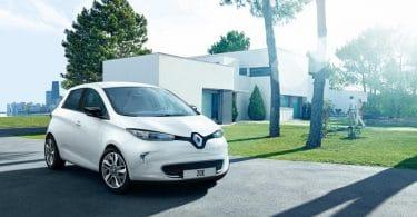 voiture électrique Renaut Zoé