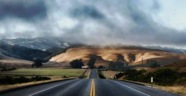 Route déserte