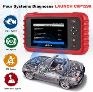 Valise OBD2 LAUNCH CRP129X