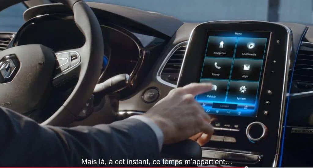 Tableau de bord Renault espace